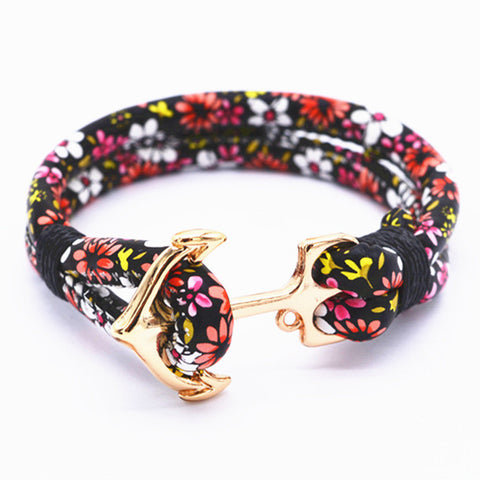 Multilayer Anchor Bracelet