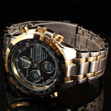 Luxury Analog Digital Men's Watch