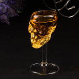 Skull Shaped Beer / Wine Glass (55ml)