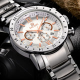 Top Brand Luxury Stainless Steel Wristwatch
