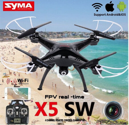 WIFI RC Drone Quadcopter Helicopter with FPV Camera