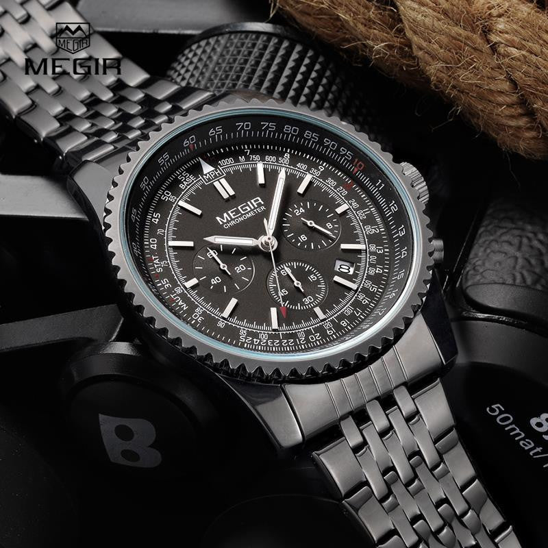 Top Brand Luxury Chronograph Wristwatch