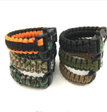 Men's Paracord Survival Bracelet - FREE Offer