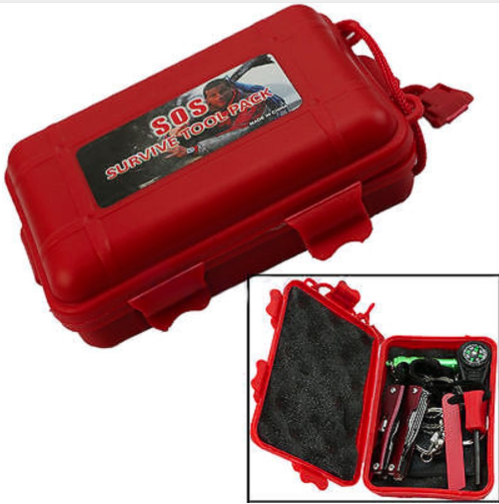 SOS Survival Emergency Gear Kit