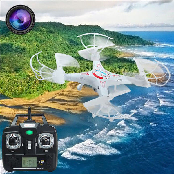 Quadcopter Helicopter Drone With 2 MP Camera