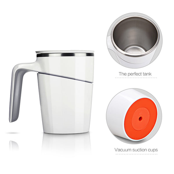Non Tip-Able Stainless Steel Coffee Mug
