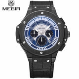 Top Brand Luxury Sports Chronograph Luminous Wristwatch
