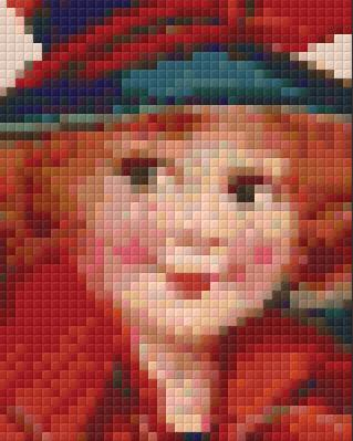 1 Baseplate kit - Red Haired Girl