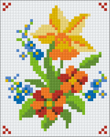 1 Baseplate kit - Flower Collection 4