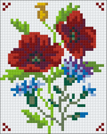 1 Baseplate kit - Flower Collection 5
