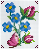 1 Baseplate kit - Flower Collection 9
