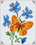 1 Baseplate kit - Orange Butterfly