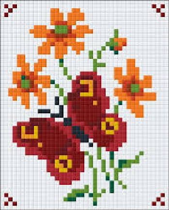 1 Baseplate kit - Red Butterfly