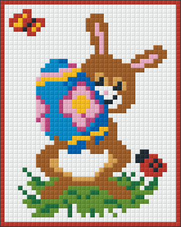 1 Baseplate kit - Easter Bunny
