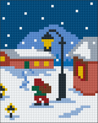1 Baseplate kit - Snow at Christmas