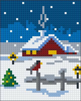 1 Baseplate kit - Christmas at Home