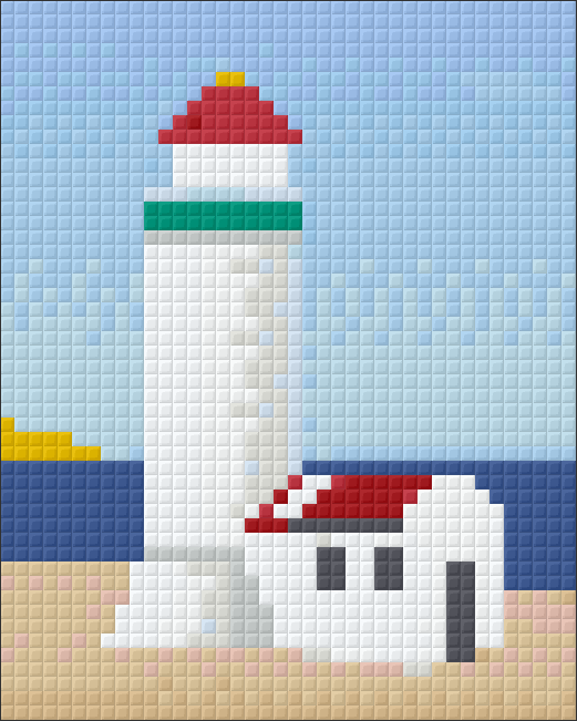 1 Baseplate kit - Lighthouse