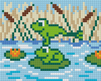 1 Baseplate kit - Frogs