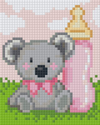 1 Baseplate kit - Baby Girl