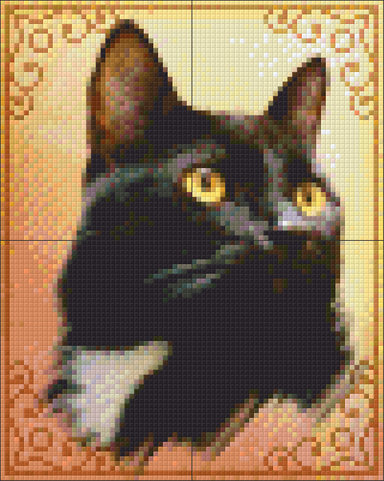 4 Baseplate kit - Cat Portrait