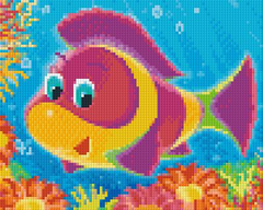 4 Baseplate kit - Cartoon Fish 1