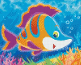 4 Baseplate kit - Cartoon Fish 2