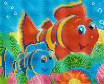 4 Baseplate kit - Cartoon Fish 3
