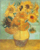 4 Baseplate kit - Sunflowers