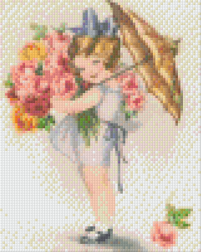 4 Baseplate kit - Girl with Bouquet