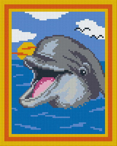 4 Baseplate kit - Smiling Dolphin