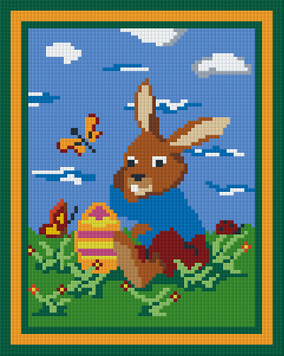 4 Baseplate kit - Easter Bunny