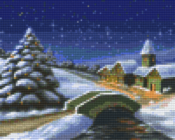 4 Baseplate kit - Winter Scene