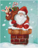 4 Baseplate kit - Santa Claus Chimney