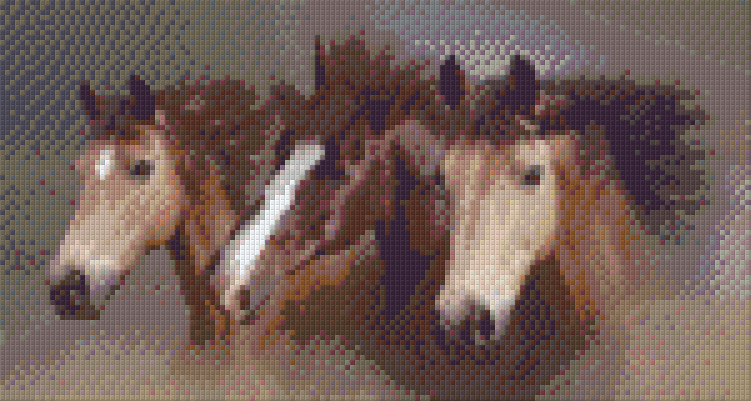 6 Baseplate kit - Three Horses