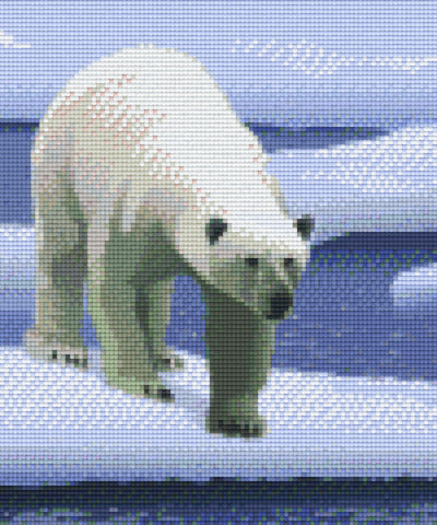 6 Baseplate kit - Polar Bear