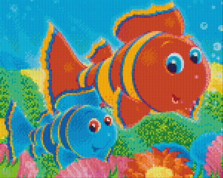 9 Baseplate kit - Clownfish