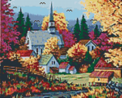 9 Baseplate kit - Village in Autumn