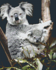 9 Baseplate kit - Koala with young