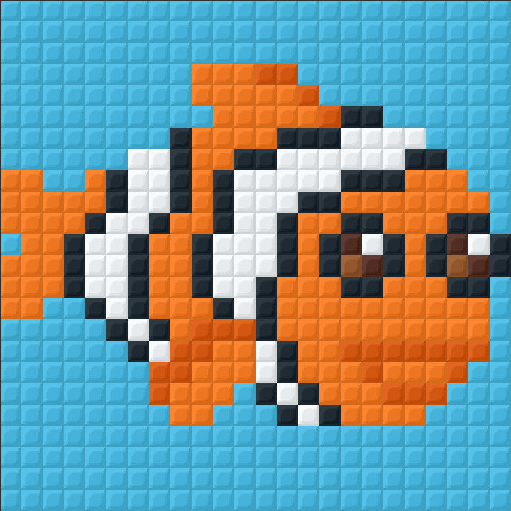 Small Magnet - Clownfish
