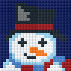 Small Magnet - Snowman