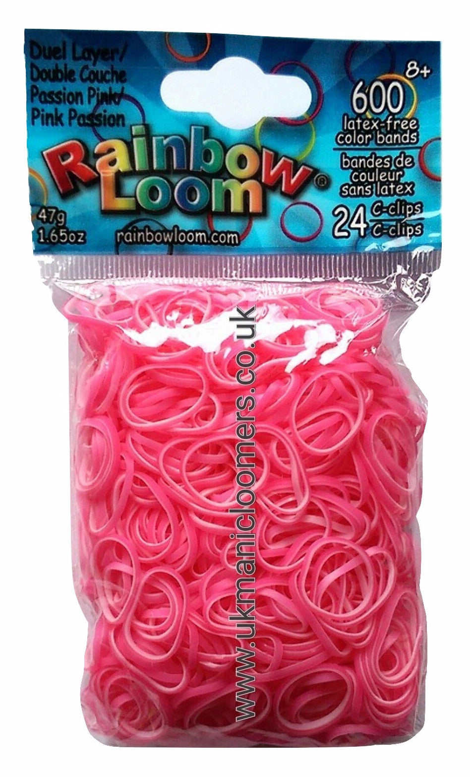 Passion Pink (Dual Layer) - UK Manic Loomer