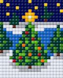1 XL Baseplate - Christmas Tree