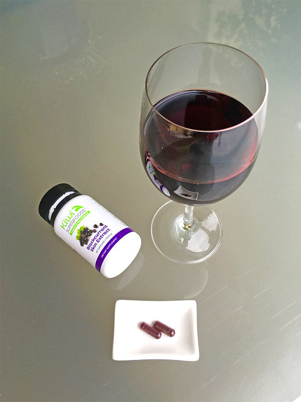 Can red wine fix my eye strain and make me smarter?