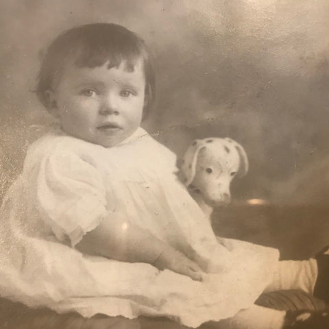 Mum as a baby in 1931