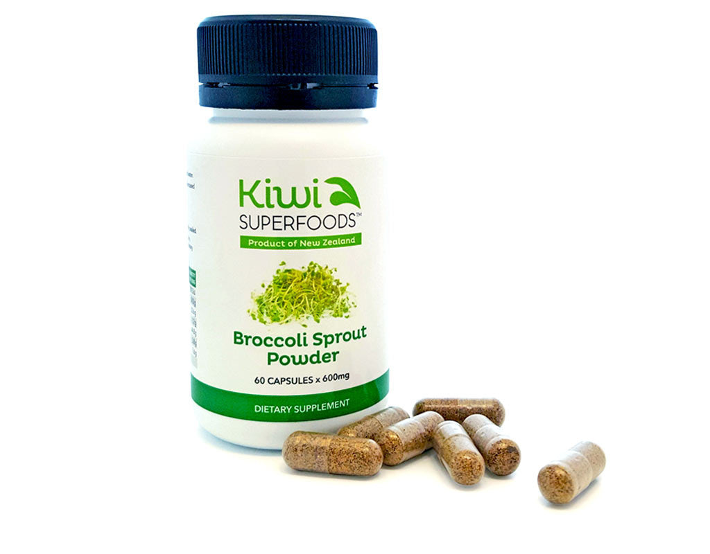 Broccoli Sprout Powder - 3 Pack - Kiwi Superfoods Ltd