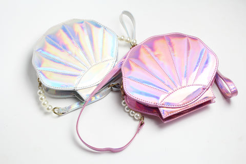 My little Plurmaid Oyster Crossbody Bag
