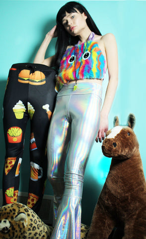 Holographic Mermaid Pants