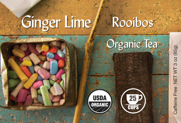 Ginger Lime Organic Rooibos Tea - BTJ