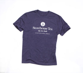 Oxford Navy Tea Shirt