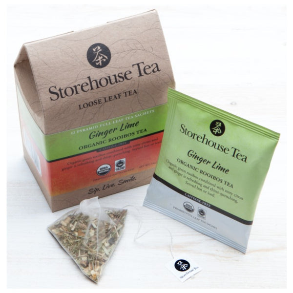 Ginger Lime Rooibos Sachets